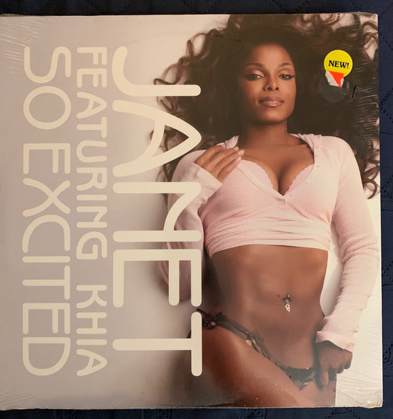 "Janet Jackson - SO EXCITED 12"" Vinyl - New"