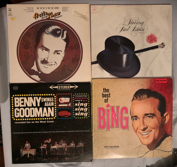 Best of Big Band / Male Vocalist - 4 original LP VINY - Used