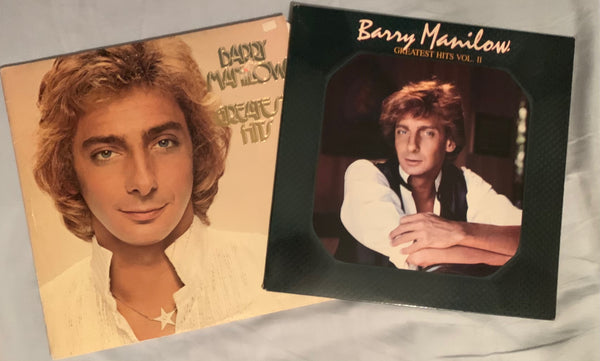 Barry Manilow - 2 original LP VINYL  Greatest Hits vol.1 & 2  - Used
