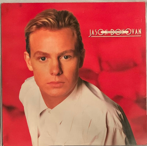 Jason Donovan - Ten Good Reasons  original 80's LP VINYL - Used