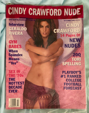 Cindy Crawford - Playboy Magazine 1998