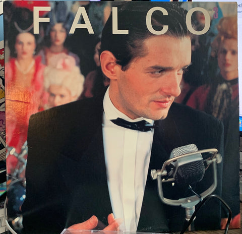 Falco - Falco 3 - Original 80s LP Vinyl - Used
