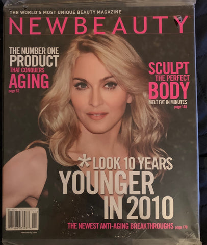Madonna - New Beauty Magazine  2010