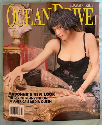 Madonna - Ocean Drive Magazine (summer Issue)