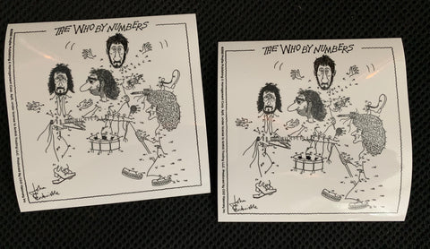 The Who By Numbers official sticker (2) -