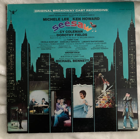 Michele Lee - Broadway cast recording : Seesaw 1973 - Used LP Vinyl