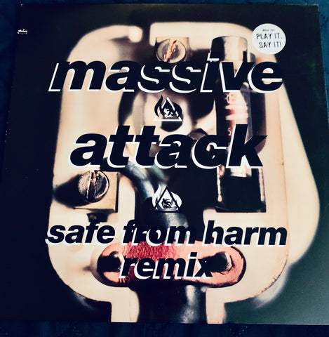 "Massive Attack - Safe from harm - 12"" remix LP Vinyl"