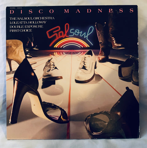 Sal Soul - Disco Madness LP Vinyl - used 1979