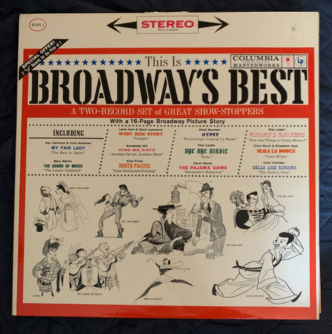 This is BROADWAY's BEST (2xLP) 1961 Vinyl  (various artist)