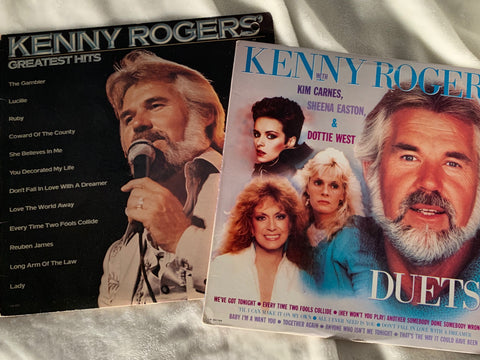 Kenny Rogers - 2 original LP Vinyl - used