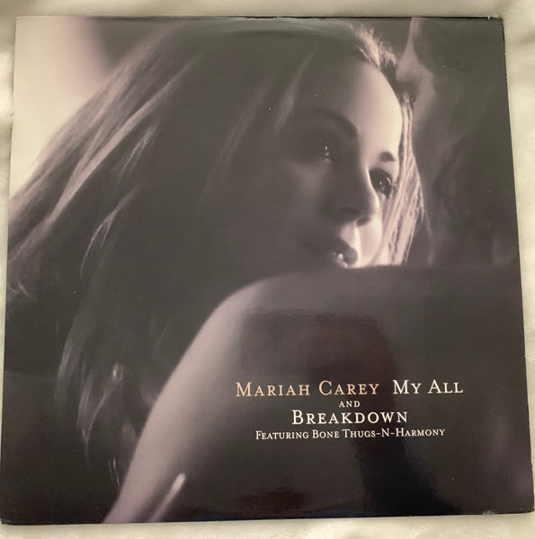 "Mariah Carey - 12"" LP Vinyl  My All / Breakdown / Fly Away"