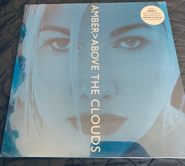"Amber - Above The Clouds  12"" remix LP Vinyl - New/sealed"
