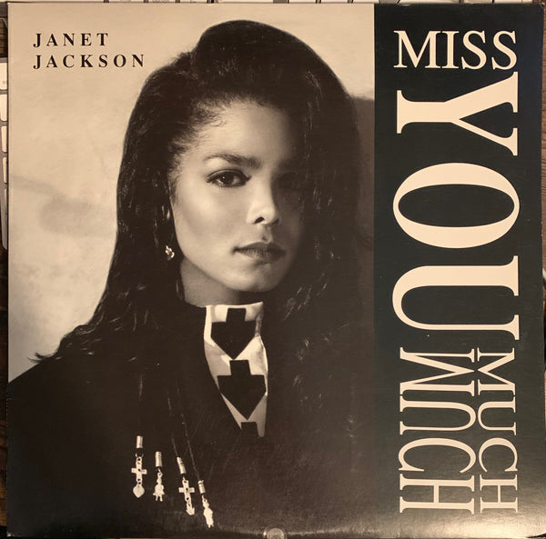 "Janet Jackson - Miss You Much (12"" LP VINYL) Used"