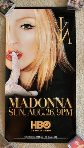 Madonna - Drowned World HBO Special LARGE acrylic banner