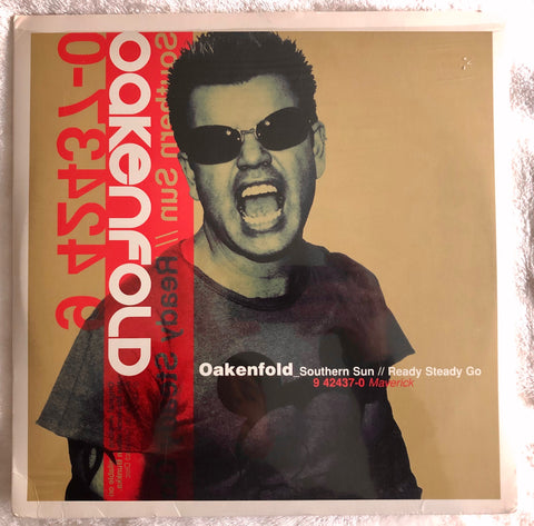 "Paul Oakenfold - Souther Sun // Ready Set Go 2xLP 12"" remix Vinyl - Used"
