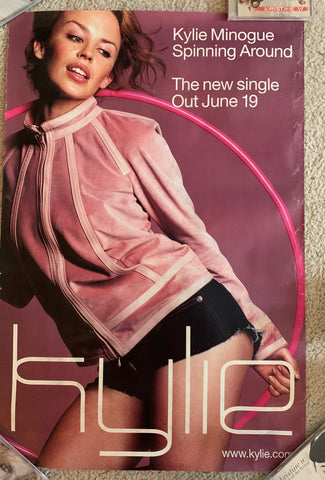 Kylie Minogue - Promotional Poster - Spinning Around