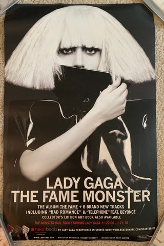 Lady GaGa - Fame Monster promo poster (double sided)