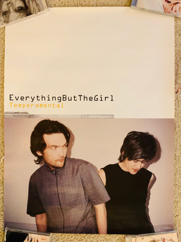 Everything But The Girl  promo poster 18x24