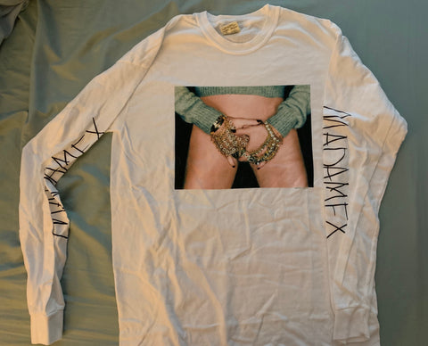 Madonna - Madame X Long sleeve White (Medium)