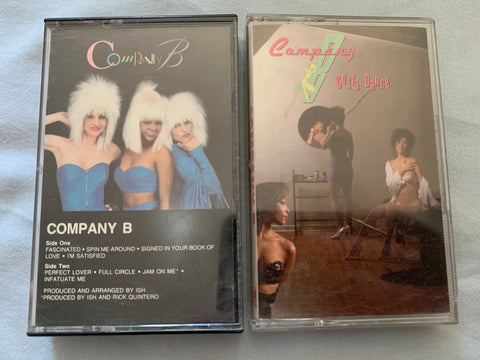 Company B : Gotta Dance & Company B (debut) - 2 Audio Cassettes - used