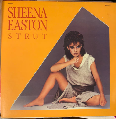 "Sheena Easton - STRUT 12"" remix LP Vinyl Used"