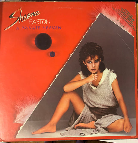 Sheena Easton - A PRIVATE HEAVEN  '84 LP (promo)  Vinyl Used
