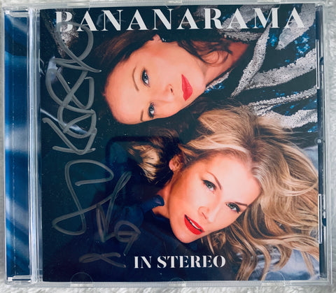 Bananarama - IN STEREO (Autographed CD) UK /