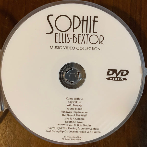 Sophie Ellis-Bextor - DVD music video collection (NTSC)