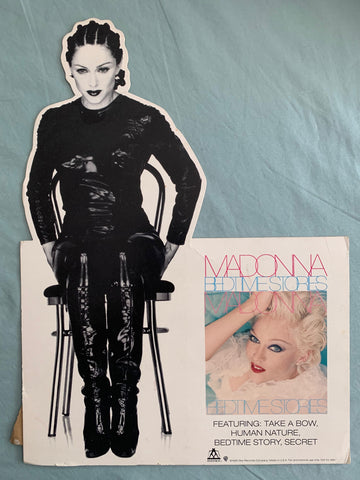 Madonna - Bedtime Stories / Human Nature counter display stand