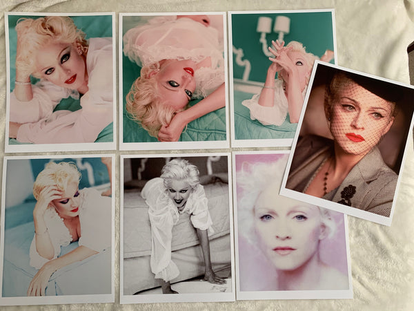Madonna : Bedtime Stories Complete Glossy Print set of 7