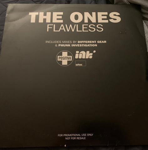 "The Ones : Flawless 12"" Remix LP Vinyl - used"