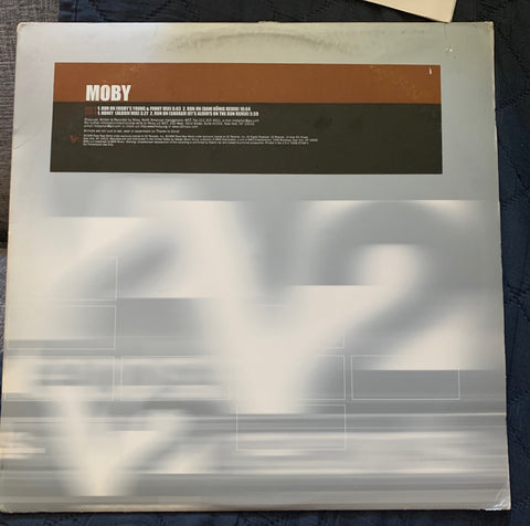 "Moby - RUN ON 12"" remix LP Vinyl - Used"