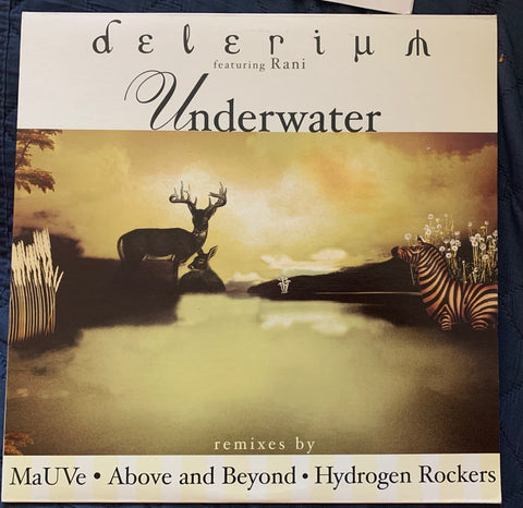 "Delerium ft: Rani - Underwater 2001 12"" Remix LP - Used in VG+++"