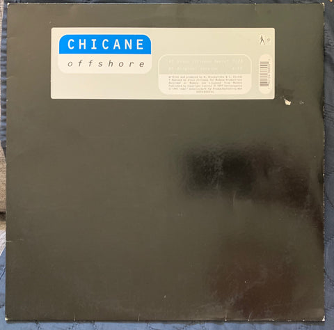 "Chicane - Offshore 12"" LP vinyl - Used"