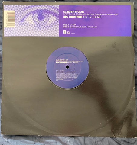 "Paul Oakenfold - Elementfour 12"" Lp Vinyl - Used"