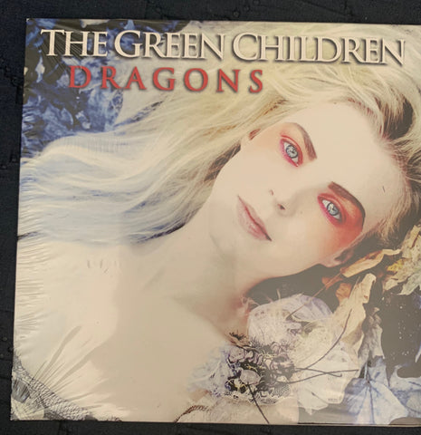 The Green Children - Dragons (REMIXES) Promo CD single -