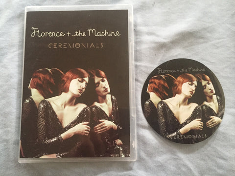 Florence + The Machine DVD promo Video collection & Sticker