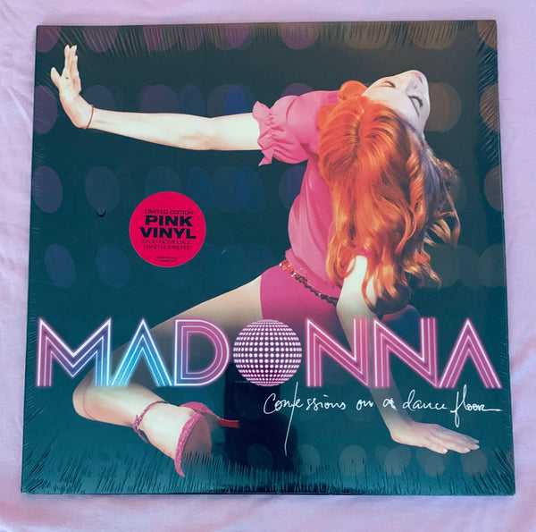 MADONNA CONFESSIONS On A Dancefloor Vinyl - HAND NUMBER #0051 LP RECORD 1ST ED -US ONLY
