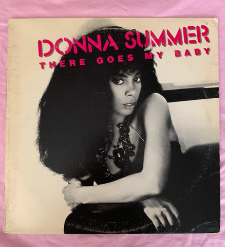 "Donna Summer - There Goes My Baby 12""  PROMO LP Vinyl - used"