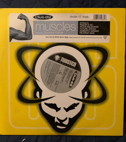 "Club 69 - Muscles ft: Suzanne Palmer 12"" remix LP Vinyl - used"