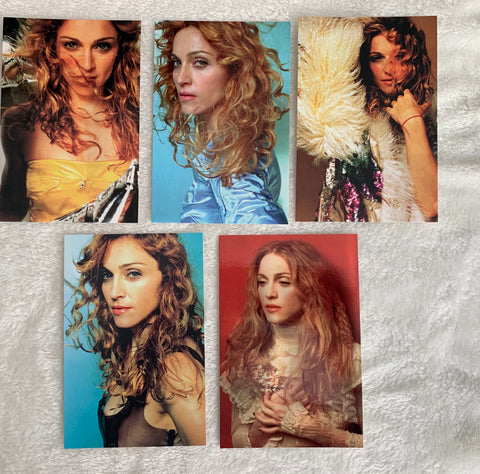 Madonna: Ray Of Light set of 5 Postcards