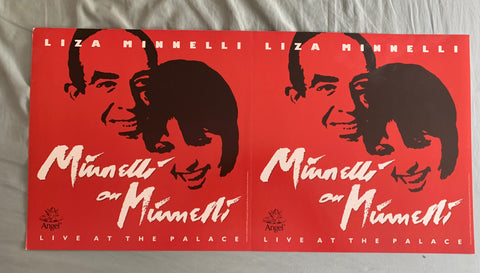 Liza Minnelli - Promotional poster flat LIVE AT THE PALACE -