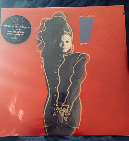 Janet Jackson - CONTROL (original 1986 LP VINYL) New /sealed promo