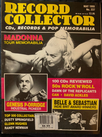 Madonna: Record Collector Magazine: May 1999