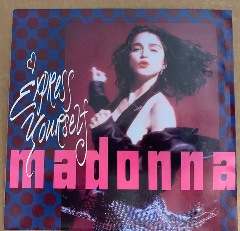 Madonna - Express Yourself 45 record vinyl - Used near mint