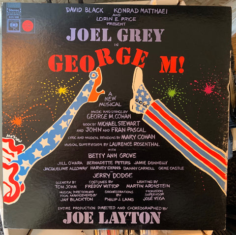 Joel Grey in George M! a new musical LP Vinyl _ Original Used