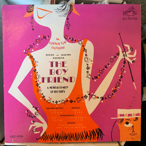 The Boy Friend (Original Cast Recording) LP Vinyl