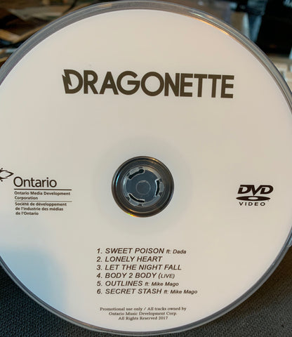 Dragonette - ROYAL BLUES DVD Music Videos