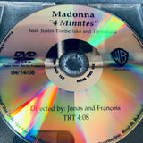 Madonna - official PROMO music video : 4 Minutes  (DVD Single)