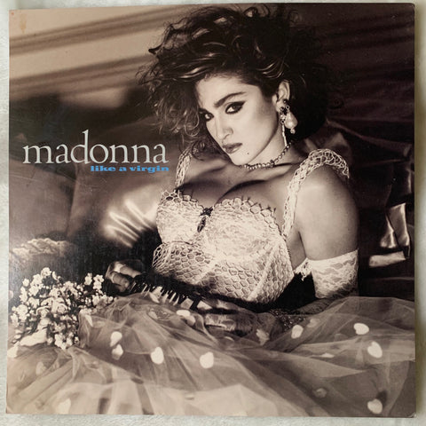 Madonna Like A Virgin 2001 Promotional Flat 12x12